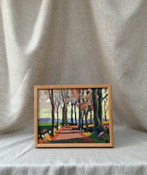 Framed Oil Painting, by ÅKE ADOLFSSON