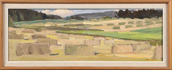 Framed Oil Painting, Landscape