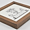 Thumbnail: Framed 1830s Tiles, German