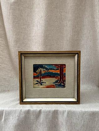 Framed Pastel, by Hilding Linnqvist