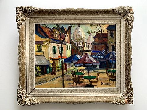 "Jack Eichborn 1906-1981, ""Sacre Coeur de Paris"", around 1950"