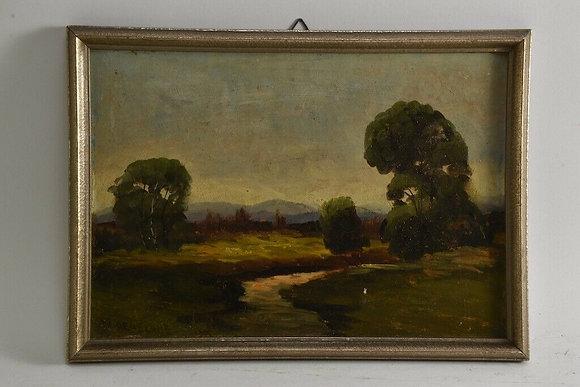 Swabian landscape, signed, Wilhelm Deuschle, around 1900