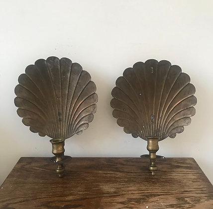 Shell Sconces