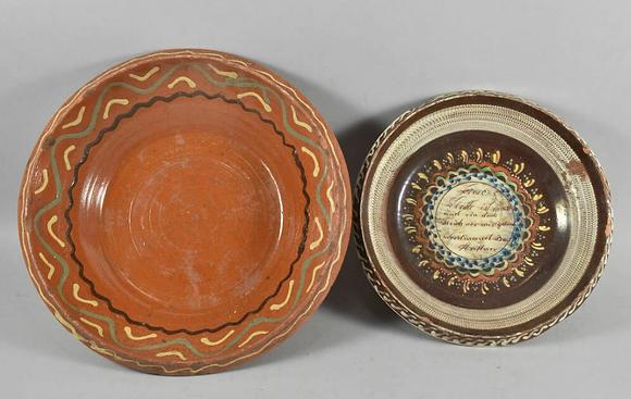 A Set of German 19th Century Bowls