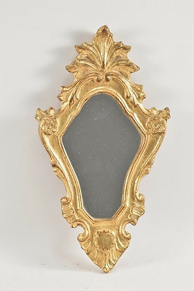 Small Gold Leafed Mirror