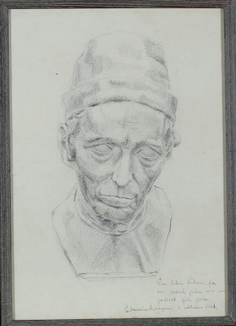 Framed Study of Girolamo Benivieni, 1863