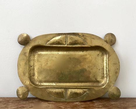 Beautiful Brass Key Tray