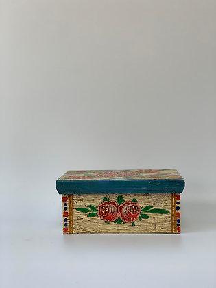 Hand Painted German Box