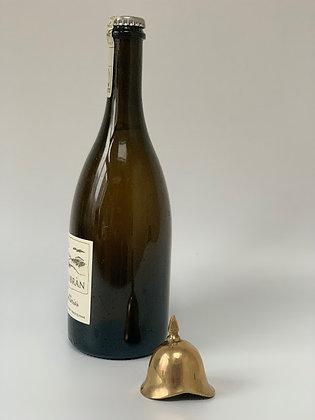 Brass Helmet Bottle Opener