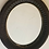 Thumbnail: Late 19th Century Carved Oval Mirror