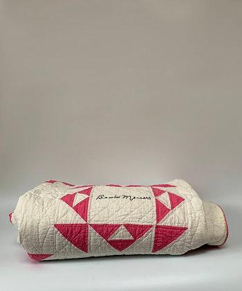 Hand-stitched 'Friendship' Quilt, 1935