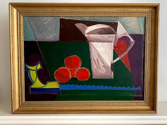 Framed Oil Painting by Axel Werner Ekelund (1919-1989)