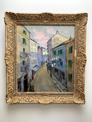 Southern street scene, Gunnar Wallentin