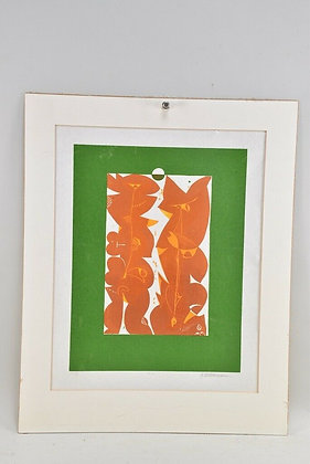 Coloured Print, 1974, German