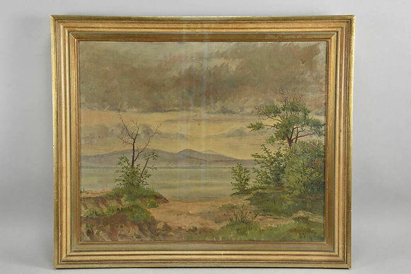 Early 20th Century Oil Painting, Framed