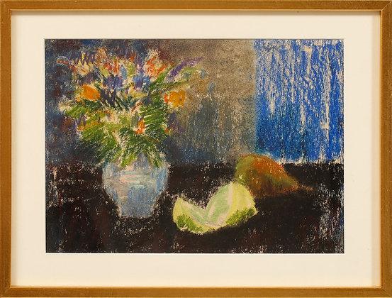 Framed Pastel by Ragnar Falk (1903-1977)