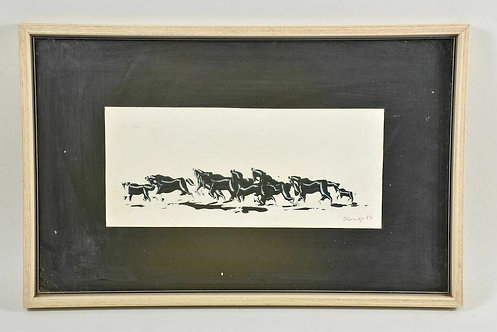 Encaustic Painting, 1984