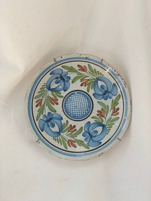 19th Century Wall Plate, German