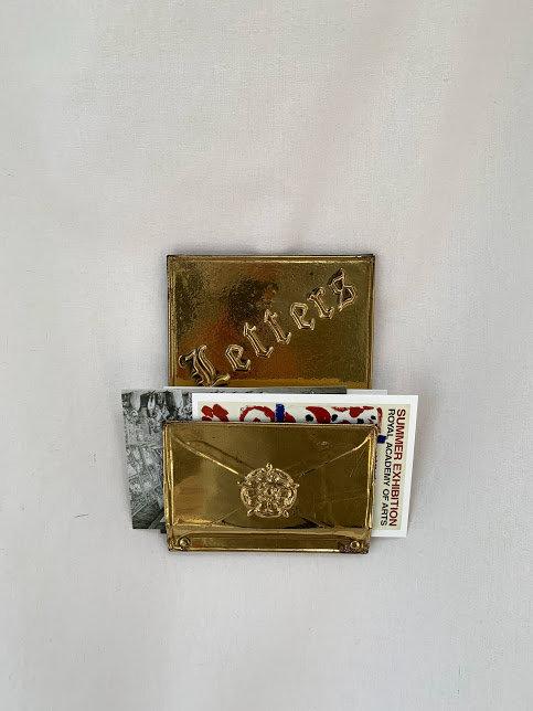 Vintage Brass Letter Holder