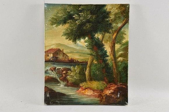 German Oil Painting, 20th Century