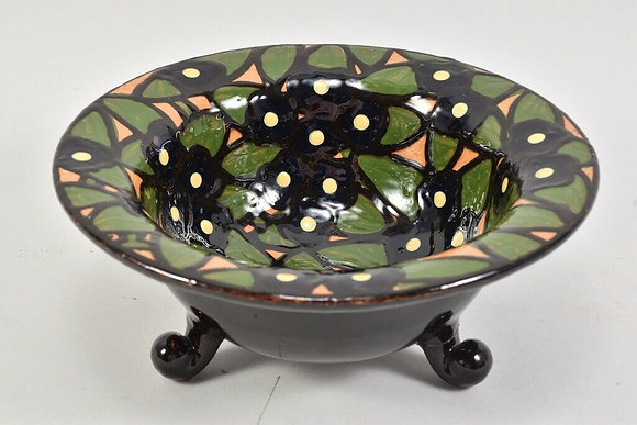 Hand Painted German, 1920s Bowl