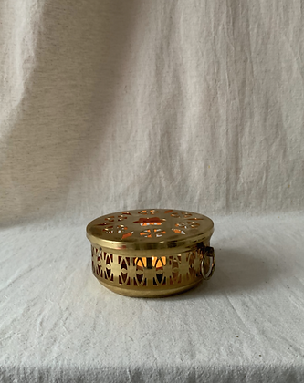 Decorative Brass Tea Light Holder