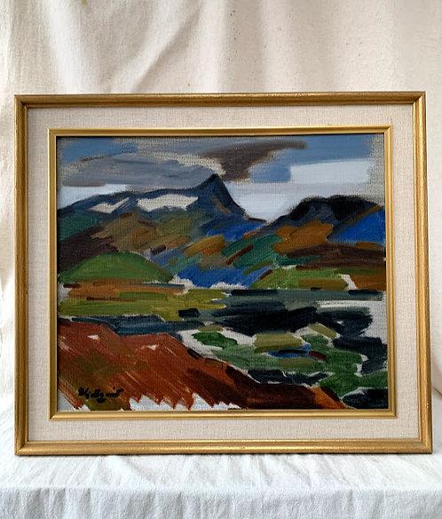 Framed Oil, byI var Hjertqvist