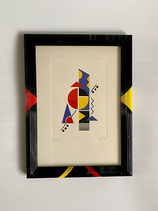 Colour Lithographed, Framed 20th Century, Artist Unknown