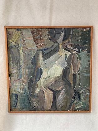 'Athletic Girl on Beach', by Jerker Helander