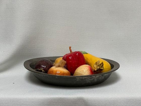 19th Century Tin Bowl, German