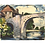 Thumbnail: Mid 20th Century Gouache - White Arched Bridge