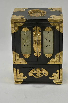 Asian Lacquer Jewellery Box