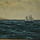 Thumbnail: Framed Oil Painting, Seascape, Signed Goth