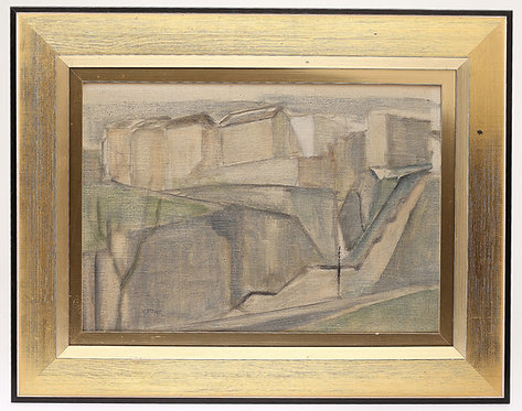 Oil On Panel by Hugo Ståhle. (1921-2015)