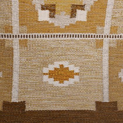 Mid Century Swedish Flat-Weave by Ingegerd Silow