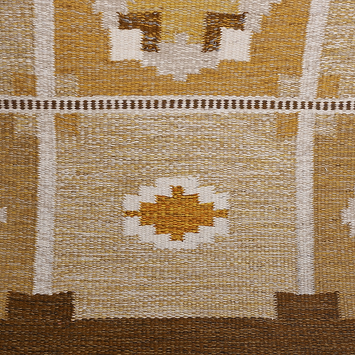 Mid Century Swedish Flat-Weave by Ingegerd Silow
