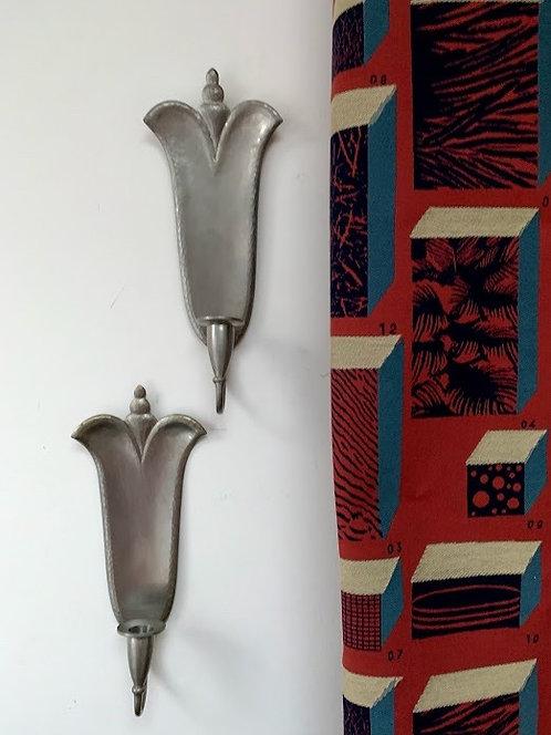 Pair of 1940s Sconces