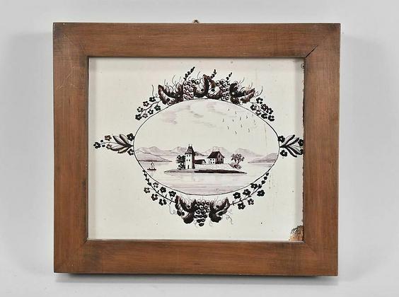 1830s Stove Tiles Framed