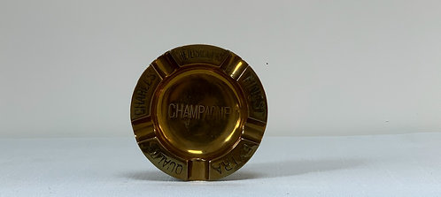 Charles Heidsieck Brass Ashtray