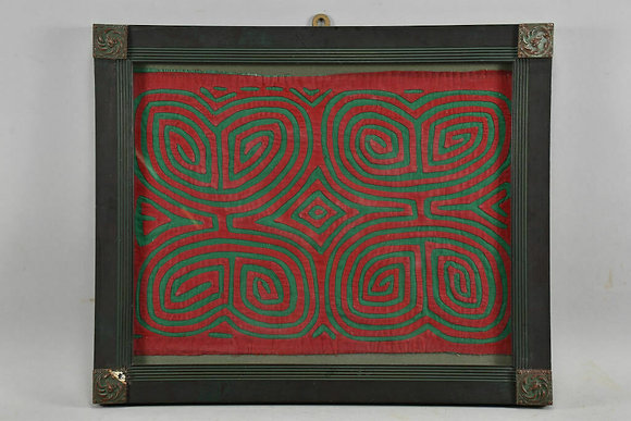 Antique Framed Fabric