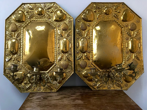 A Pair of Dutch Sconces
