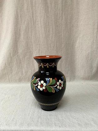 Mid Century Hungarian Folkware  Vase.