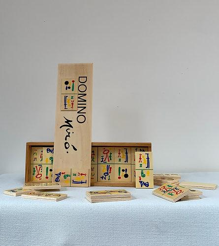 Joan Miró 'Parler Seul' Domino Game Set