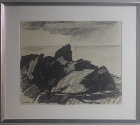 Framed Drawing by Arwid Sigfrid