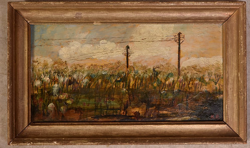 Framed Oil Painting, Unknown Artist
