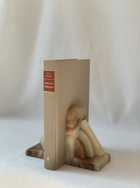 Pair of Stone Bookends