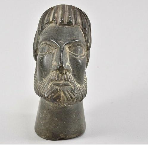 Soapstone head, Museum Replica