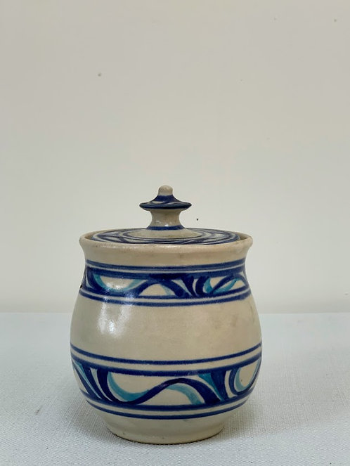 Small Jar with Lid, German