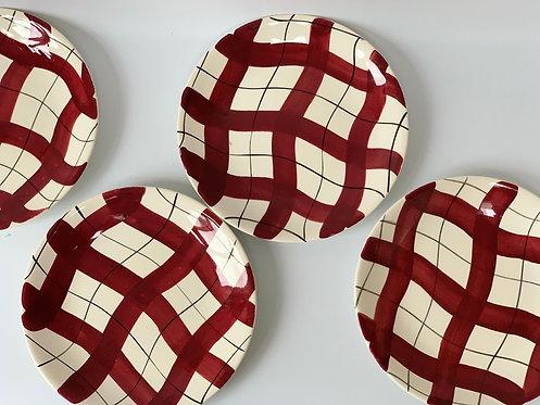 Set of Four Dinner Plates, Empire 1960s
