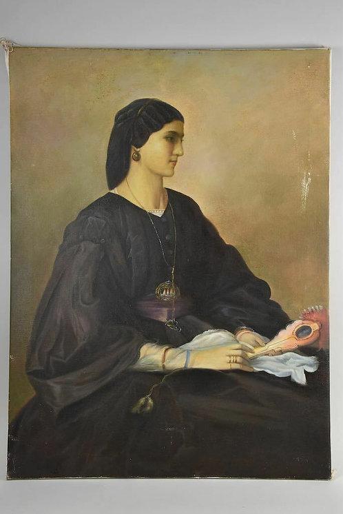 20th Century Oil Painting, Spanish